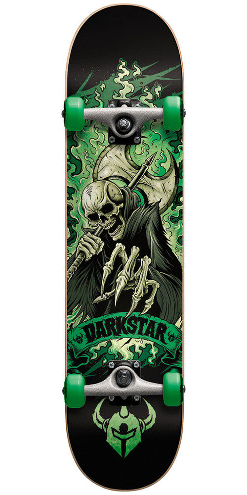 Darkstar Death FP - Green - 7.9 - Complete Skateboard
