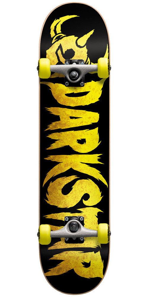 Darkstar Ultimate FP - Yellow - 7.7in x 31.1in - Complete Skateboard