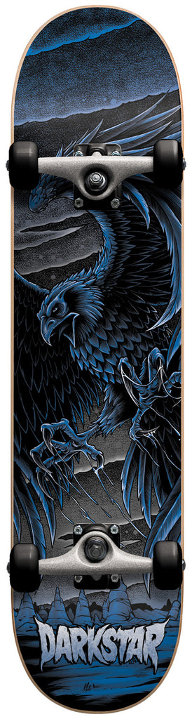 Darkstar Flight FP - Blue - 7.6 - Complete Skateboard