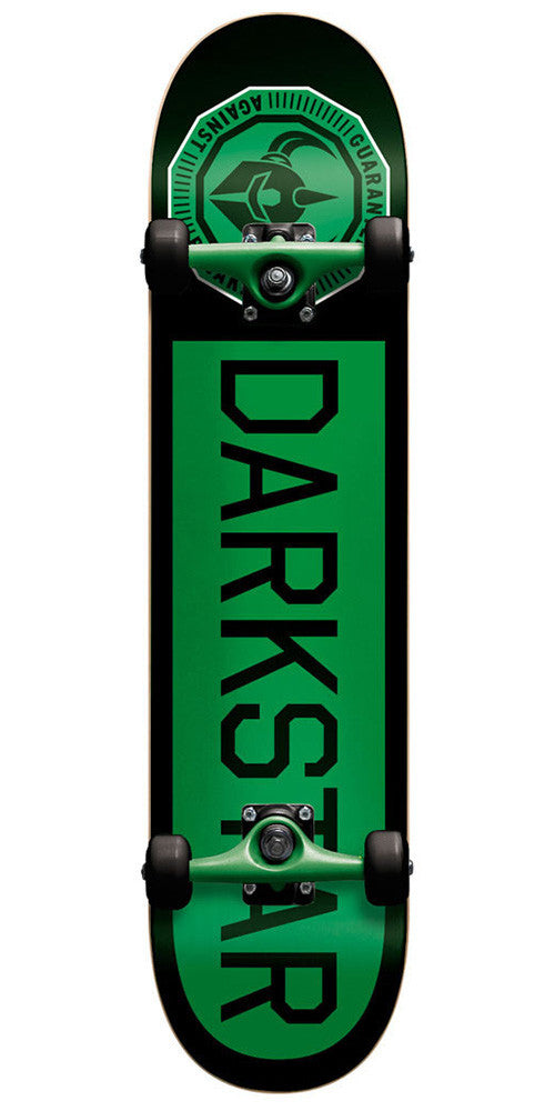 Darkstar Timeworks Youth - Black/Green - 6.75 - Complete Skateboard