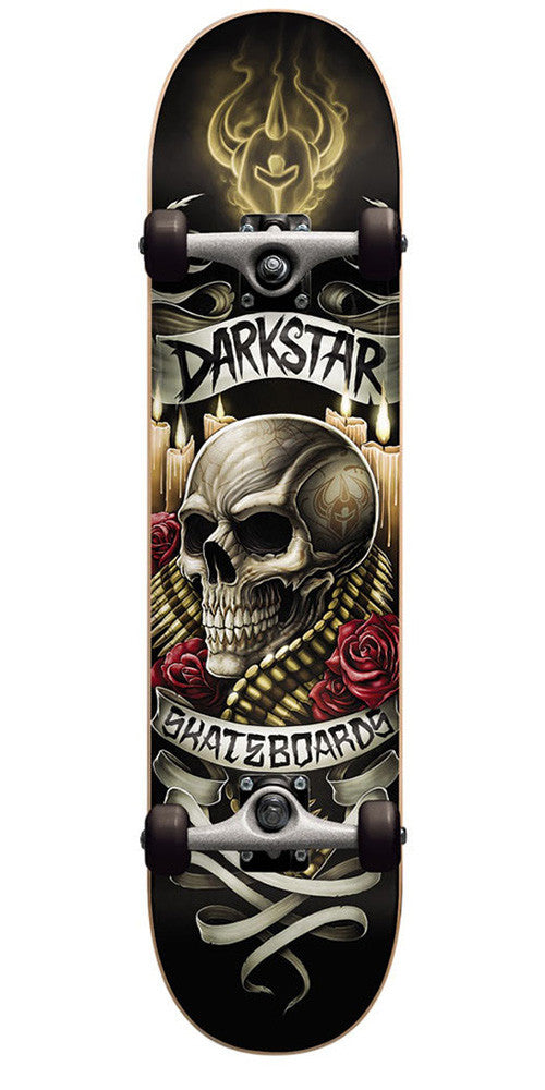 Darkstar Shrine FP - Burnt Umber - 8.0 - Complete Skateboard