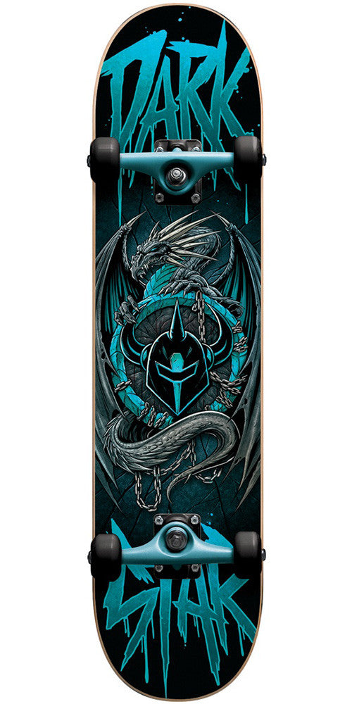 Darkstar Abyss Youth - Aqua - 7.375in - Complete Skateboard