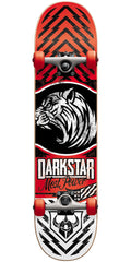 Darkstar Lion Youth - Red - 6.75in - Complete Skateboard