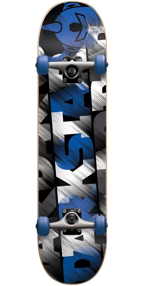 Darkstar Quarter - Blue - 7.5in - Complete Skateboard