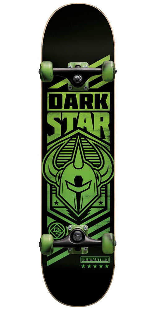 Darkstar Army FP - Neon Green - 7.5in - Complete Skateboard