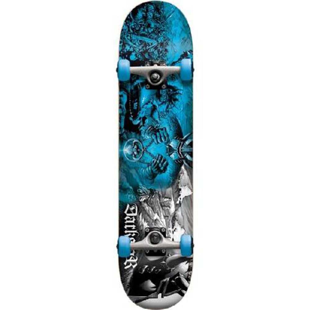 Darkstar Battle FP - Blue - 7.6in - Complete Skateboard