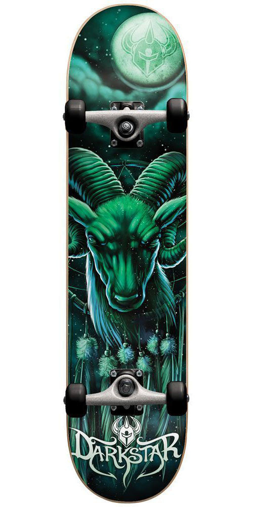 Darkstar Spirit Guide FP - Aqua - 8.0in - Complete Skateboard