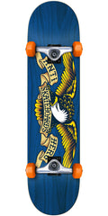 Anti-Hero Stained Eagle - Blue - 7.5in x in - Complete Skateboard