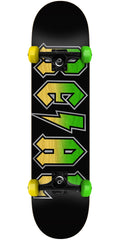 Real Deeds Fade - Black - 7.5in x in - Complete Skateboard