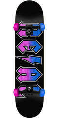 Real Deeds Fade - Black - 7.75in x in - Complete Skateboard