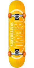 Real New Light - Yellow - 7.5in x in - Complete Skateboard