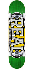 Real Dropouts - Green - 7.5in x in - Complete Skateboard