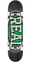 Real Dropouts - Black - 8.0in x in - Complete Skateboard