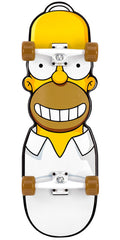 Blemished - Santa Cruz Skate Simpsons The Homer Cruzer - Yellow/White - 10.1in x 31.7in - Complete Skateboard
