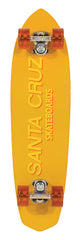 Santa Cruz 40th Anniversary The First Cruzer - Yellow -7.7in x 30in - Complete Skateboard