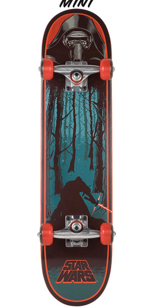 Santa Cruz Star Wars Episode VII Kylo Ren Mini Sk8 - Multi - 7.0in x 29.2in - Complete Skateboard