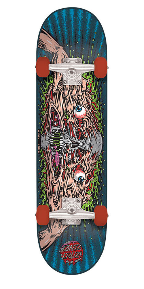 Santa Cruz Facemelter Regular Sk8 - Multi - 8.0in x 31.6in - Complete Skateboard