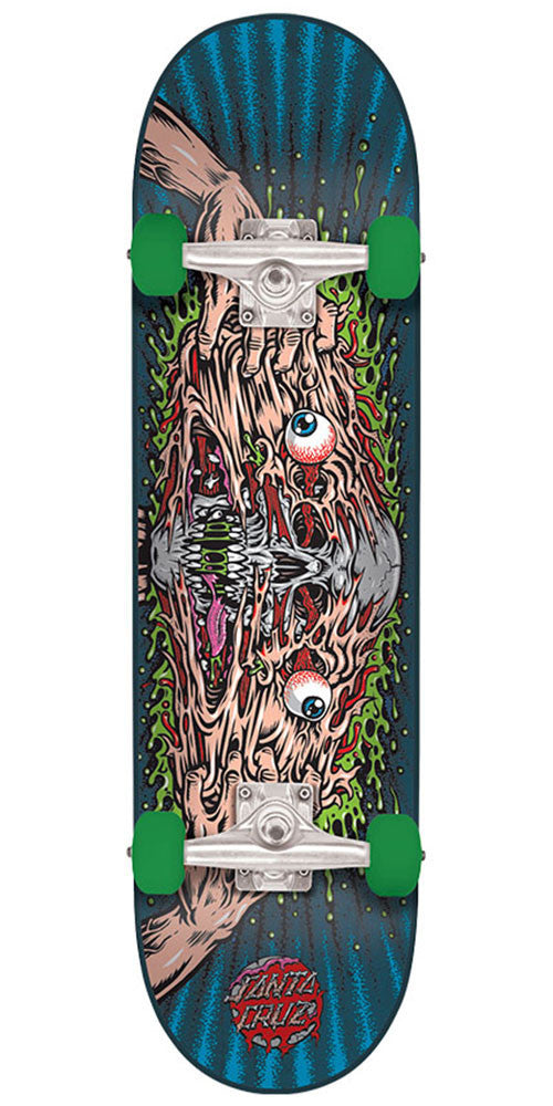Santa Cruz Face Melter Regular Sk8 - Multi - 7.9in x 31.7in - Complete Skateboard