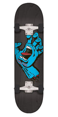 Santa Cruz Screaming Hand Regular Regular - Black - 8.25in x 31.8in - Complete Skateboard