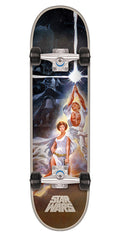 Santa Cruz Star Wars A New Hope - Multi - 7.8in x 31.7in - Complete Skateboard