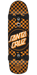 Santa Cruz Check Dot Cruzer - Multi - 8.5in x 31.9in - Complete Skateboard
