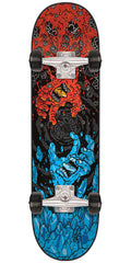 Santa Cruz Fire and Ice Sk8 - Multi - 7.8in x 31.7in - Complete Skateboard