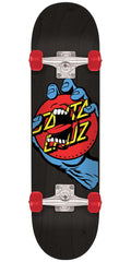 Santa Cruz Hand Dot Sk8 - Black - 8.0in x 31.6in - Complete Skateboard