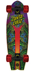 Santa Cruz Island Sunset Land Shark - Multi - 8.8in x 27.7in - Complete Skateboard