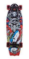 Santa Cruz Squid Bat Tail Shark - Multi - 8.8in x 28.17in - Complete Skateboard