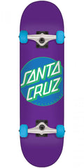 Santa Cruz Classic Dot Sk8 - Purple - 7.8in x 31.7in - Complete Skateboard