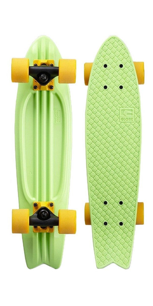 Globe Bantam ST - Lime/Black/Yellow - 6.0in x 23in - Complete Skateboard
