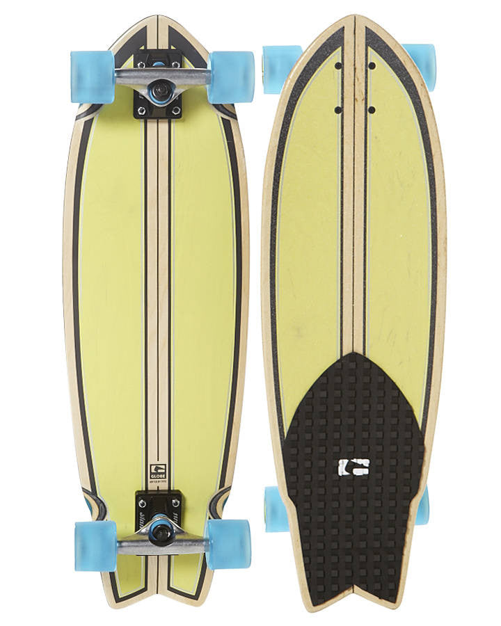 Globe Dart - Lime/Punch - 30in - Complete Skateboard