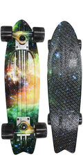 Globe Bantam Graphic ST - Galaxy - 6in x 23in - Complete Skateboard