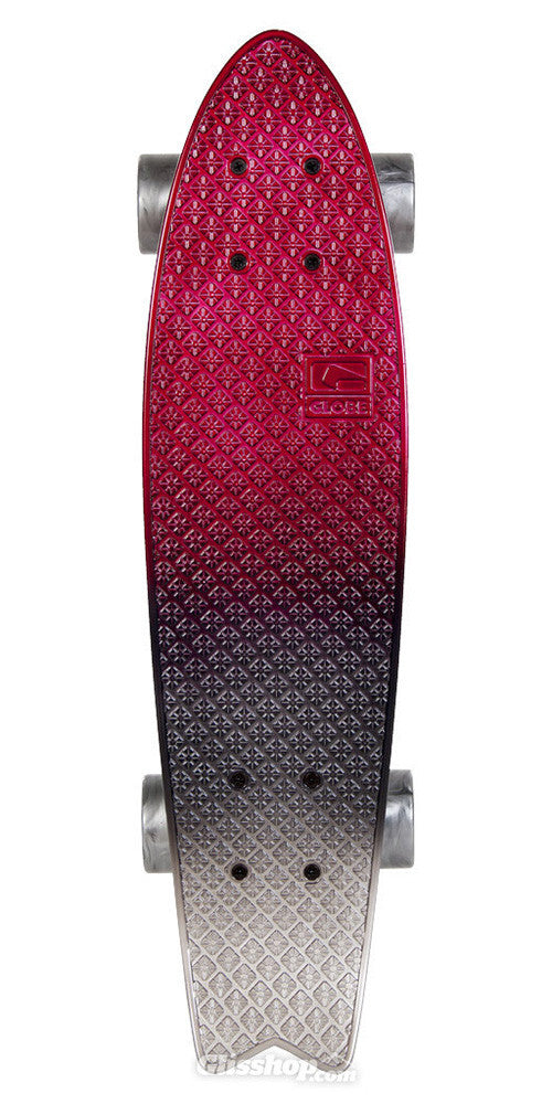 Globe Faded Bantam - Black Cherry - 6.0in x 23in - Complete Skateboard