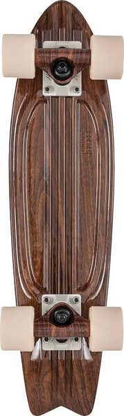 Globe Bantam Graphic ST - Walnut - 6in x 23in - Complete Skateboard