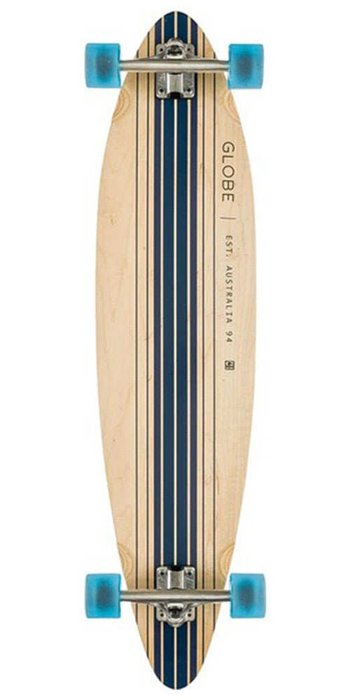 Globe Pinner - Natural/Blue - 41.25in - Complete Skateboard