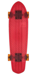 Globe Bantam Clears - Red/Raw/Amber - 24.0in - Complete Skateboard