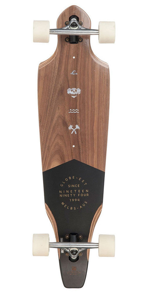 Globe The Cutler - Walnut - 9.5in x 36.5in - Complete Skateboard