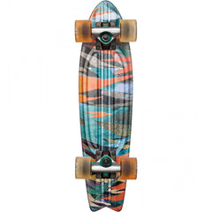 Globe Bantam Graphic ST - Current - 6in x 23in - Complete Skateboard