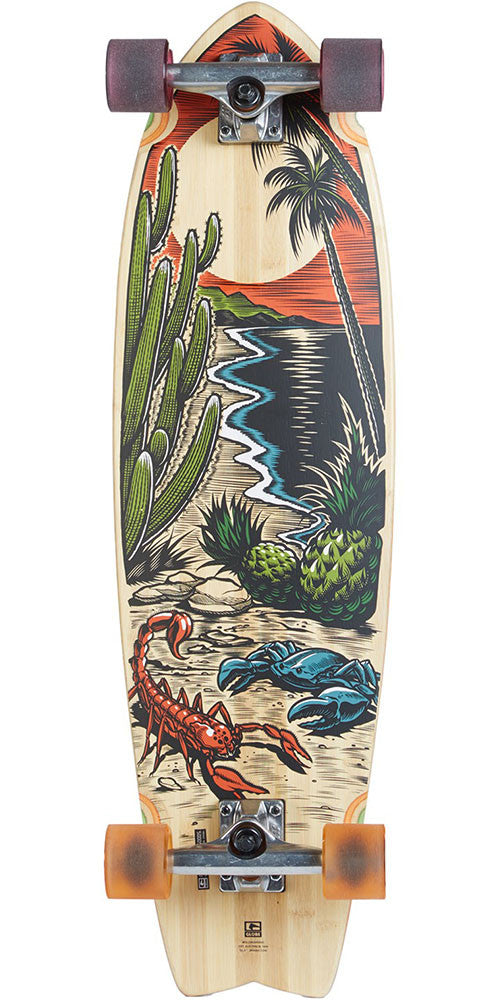 Globe Chromantic Cruiser - Desert Tropic/Amber - 9.75in x 33.0in - Complete Skateboard