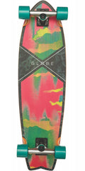 Globe Chromantic Cruiser - Melted melon - 9.75in x 33.0in - Complete Skateboard