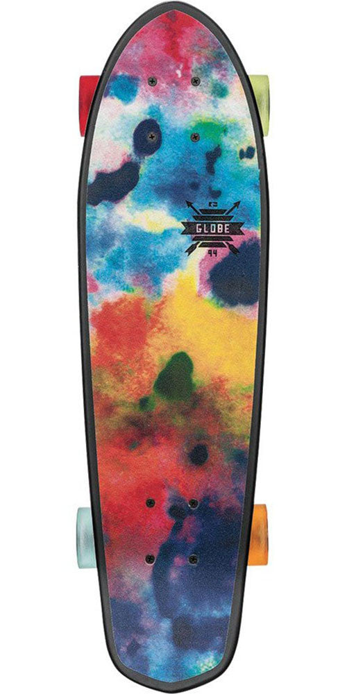 Globe Blazer - Black/Color Bomb - 7.25in x 26.0in - Complete Skateboard