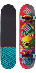 Globe Totems - Rainbow Serpent - 7.75in x 31.6in - Complete Skateboard