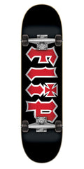 Flip HKD Black Regular Sk8 - Black - 8.00in x 31.50in - Complete Skateboard