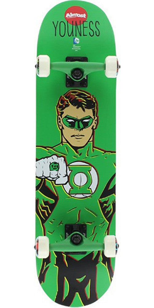 Almost Youness Green Lantern - Green - 8.0 - Complete Skateboard