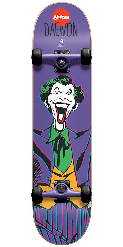 Almost Daewon Song Joker - Purple - 7.75 - Complete Skateboard