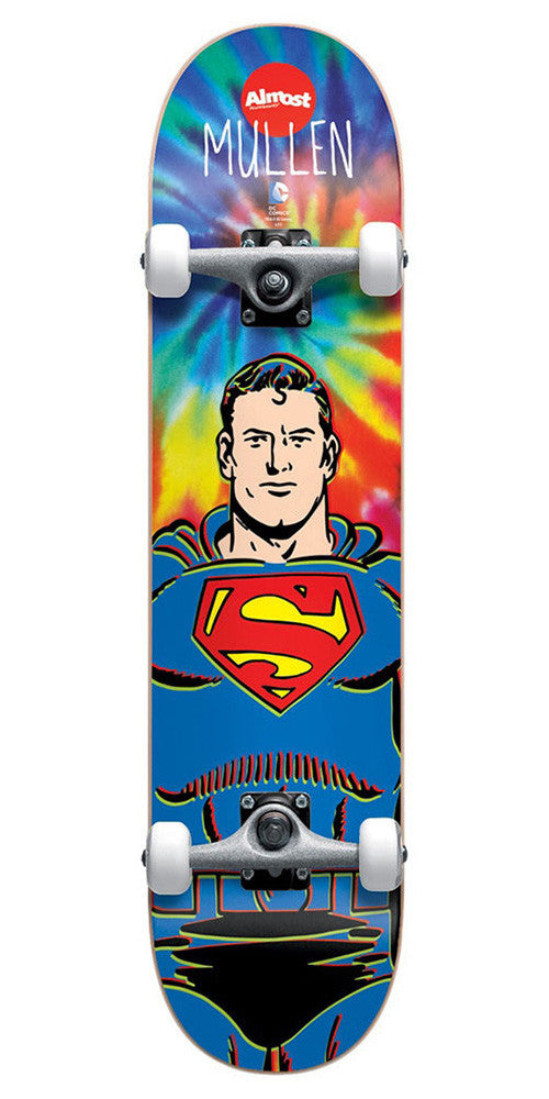 Almost Mullen Superman Tie Dye - Tie Dye - 7.75in - Complete Skateboard