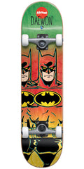 Almost Daewon Batman Fade - Rasta - 7.75in - Complete Skateboard