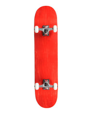 "Action Village 8"" Red Blank Deck - Complete Skateboard"