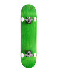 "Action Village 8"" Green Blank Deck - Complete Skateboard"